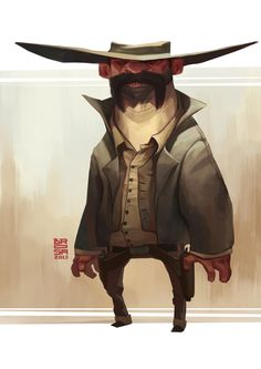 Characters by Sergi Brosa, via Behance