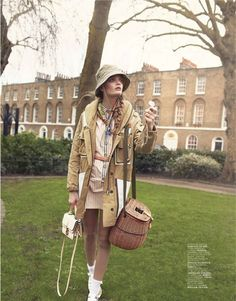 The Little Explorer: #Dutch #model #MartheWiggers by Gemma Booth for Jalouse #March2013; styling by Anna Querouil; hair by Mark Daniel Bailey; makeup by Anita Keeling (jedroot)