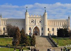 Castle in Lublin Poland