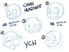 Chibi Headshots by LeniProduction on DeviantArt