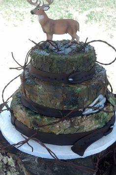 Deer hunting deer hunter grooms cake