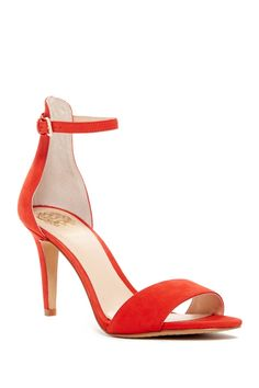 Red hot!  Vince Camuto Court Heel Sandals