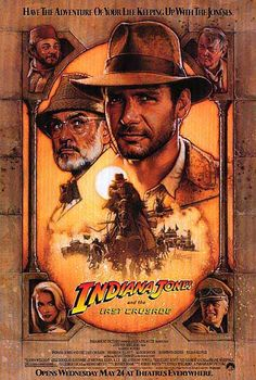 [ INDIANA JONES AND THE LAST CRUSADE POSTER ]