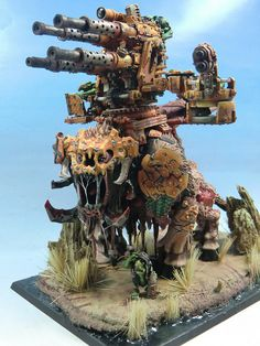 Ork Squiggoth conversion