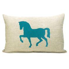 Horse pillow.