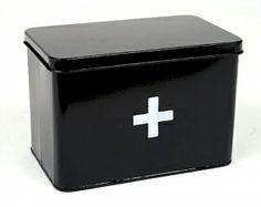 12,90€ Lääkelaatikko musta (myös vastaava samanvärisenä käy)