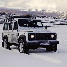 """When driving through far-flung communities, we are hoping that the iconic Defender will trigger conversations and hopefully lead to all sorts of other adventures."" – Felicity Aston, British Adventurer and #PoleOfCold Expedition Leader. #Padgram"