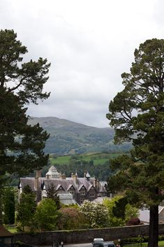 Bodnant Garden in Wales overlooks the beautiful Conwy Valley toward the Carneddau Mountains. Places Around The World, The Places Youll Go, Great Places, Places To See, Beautiful World, Beautiful Places, Vacation List, Northern England, England And Scotland