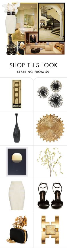 """""""For the wonderful Mrs. B!"""" by asia-12 ❤ liked on Polyvore featuring Dot & Bo, Pier 1 Imports, Holly's House, SANCHEZ, Alexander McQueen, Sophia Webster, Tory Burch and Aurélie Bidermann"""