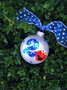 Character Christmas ornament: Elmo, Cookie Monster, Mike from ...