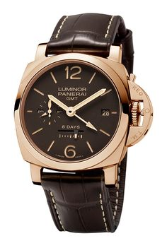 Panerai Luminor 1950 8 Days GMT Oro Rosso Watch