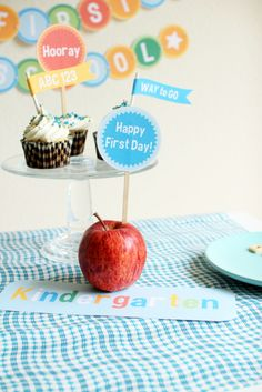 DIY School Days Printables - The Sweetest Occasion | The Sweetest Occasion