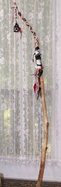 Custom Made Wizard and Fairie Staff by bhaskardancer on Etsy, $45.00