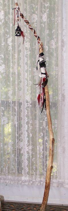 Custom Made Wizard and Fairie Staff by bhaskardancer on Etsy, $45.00