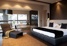 House Eccleston   Main Bedroom   M Square Lifestyle Design   M Square Lifestyle Necessities #Design #Interior #Furniture #Decor #Light #Bed #Bath #Contemporary
