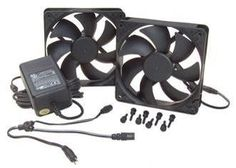 This kit is ideal for replacing old, loud fans or AC fans that lack the quality and control features of DC Fans. These are top-quality, DC (low-voltage) fans with a special magnetic levitation system for quiet and long lasting operation.
