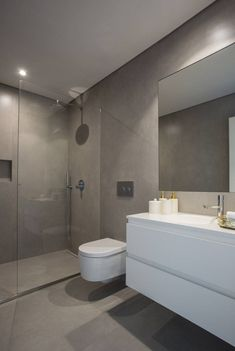 18 Beautiful Half Bathroom Ideas to Inspire You - - Half Bathroom, Bathroom Renovation Trends, House Bathroom, Bathroom Interior Design, Bathroom Decor, Bathroom Design Small, Shower Room, Small Bathroom Decor, Diy Bathroom Storage