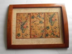 Vintage Pimpernel Winterthur Chinese Screen Serving Tray, Pheasants, Asian tray