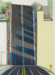 New Book Spanning Wayne Thiebaud's Career Gives a Peek Into His Lesser-known Slanted and Heavily Shadowed Landscapes (Colossal) Landscape Art, Landscape Paintings, Wayne Thiebaud Paintings, Bay Area, Modern Art, Contemporary Art, Renaissance Kunst, Psychedelic Drawings, Pop Art Movement