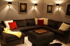 Residence 3 - Family Room Family Room, Couch, Projects, Furniture, Design, Home Decor, Log Projects, Homemade Home Decor, Sofa