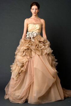 wedding colors.  amazing.  vera wang.