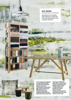 NEW wallcoverings by @Jess Liu Zoob for @Romo_Fabrics in @ELLE Magazine (US) Decoration UK this April! http://romoblack.com