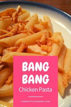 Bang Bang Chicken Pasta #pasta #bangbangchicken #chickenrecipe #pastarecipe #30minutemeal