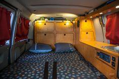 Présentation de notre fourgon VW T4 aménagé pour l'aventure
