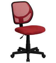 Mid-Back Purple Mesh Task Chair and Computer Chair . This ventilated mesh computer chair will give you the comfort you desire throughout the day. If you are looking for a sleek, functional chair for your work or home office, a mesh Cheap Office Chairs, Stylish Chairs, Home Office Chairs, Office Furniture, Furniture Chairs, Room Chairs, Orange Furniture, Upholstered Chairs, Side Chairs