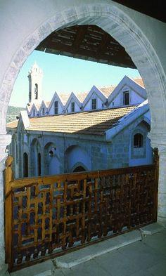 Omodos Monastery of Stavros, Cyprus