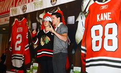 Andrew Shaw poses with a fan at the Convention. #BHC2015