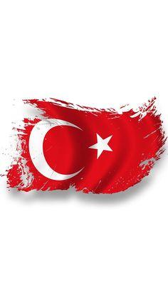 iPhone Türk Bayrağı Duvar Kağıtları İndir   Türk Bayrakları