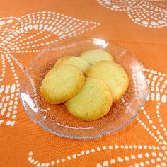 Swedish butter potato cookies