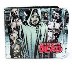 The Walking Dead - Serien Herren Geldbörse - Miconne: Amazon.de: Koffer, Rucksäcke & Taschen