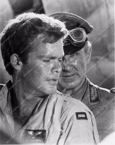 photo Richard Conte Chuck Connors Charles Bronson film Purple Heart ? 1990-21