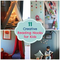 11 Creative Reading Nooks for Kids