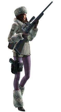 Resident Evil: Revelations Jessica