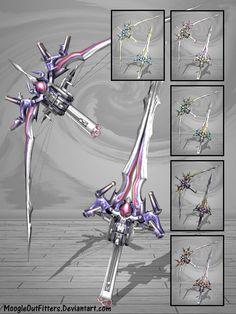 Sword- Crossbow Transformer. Original Design Sqaure Enix. Final fantasy. 2016