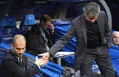 STREET AJEBO : PEP AND MOU WERE ONCE FRIENDS, NOW THEY DON'T SEE EYE TO EYE