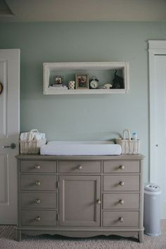waverley's nursery - pearls on a string http://www.sherwin-williams.com/homeowners/color/find-and-explore-colors/paint-colors-by-family/SW0059-frostwork/