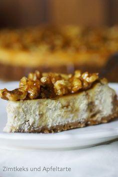 Kanada und ein köstlicher Maple-Walnut-Cheesecake