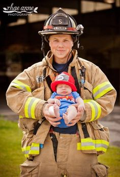 Fireman hat by Nuggetbabybeanies on Etsy, $21.00