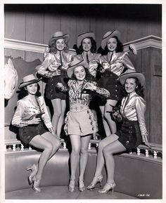 Cowgirls from Rainbow Over Texas (1946
