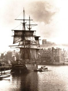 A Brig at Whitby, by Frank Meadow Sutcliffe