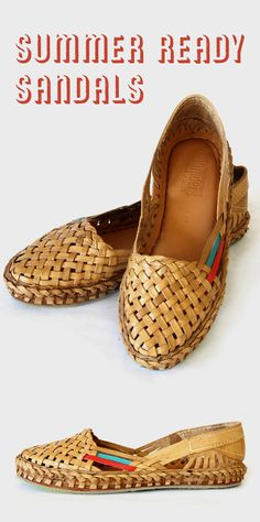 Some things get better with age and this pair of water buffalo leather flats is one of them. Made rustic in durable materials, the intricate weave and pops of color give each shoe a beautiful texture. The city slippers are handmade with vegetable tanned leather, fully leather-lined and cushioned, for a seriously comfortable shoe that's made to last.
