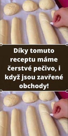 Czech Recipes, Ethnic Recipes, Ciabatta, Croissant, Yummy Treats, Dairy Free, Food And Drink, Menu, Bread