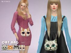 Bag N01 by S-Club LL at TSR • Sims 4 Updates