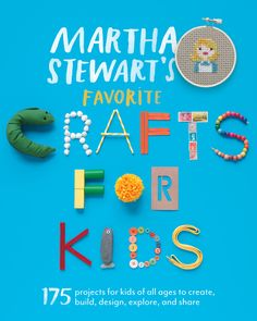"""The dog days of summer just got a lot more exciting. Inour latest book, Martha Stewart's Favorite Crafts for Kids, oureditors at """"Martha Stewart Living"""" bring you 175 craft projects geared toward kids of all ages.    Buy """"Martha Stewart's Favorite Crafts for Kids"""""""