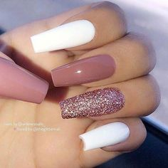 Top Awesome Coffin Nails Design 2019 You Must Try .- Top Awesome Sarg Nägel Design 2019 müssen Sie versuchen – Coffin Nails … top awesome coffin nails design 2019 you have to try – coffin nails – to # Nails - Nails Now, Aycrlic Nails, Hot Nails, Nail Polishes, Best Acrylic Nails, Summer Acrylic Nails, Acrylic Nails Coffin Glitter, Summer Nails, Matte Nails