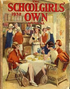 This was way before my childhood.but I just love the cover illustration. Vintage Magazines, Vintage Books, Vintage Posters, Vintage Pictures, Vintage Images, Pin Up, Hockey Sticks, Tea Art, Illustrations